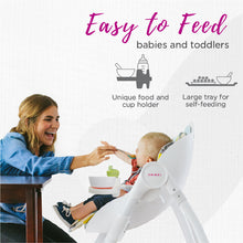 Load image into Gallery viewer, Oribel Cocoon High Chair Easy to Feed Babies and Toddlers