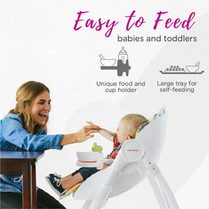 Oribel Cocoon High Chair Easy to Feed Babies and Toddlers