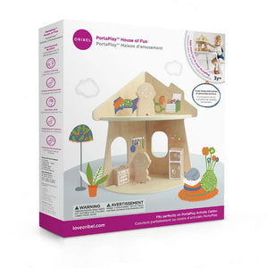 Oribel PortaPlay House of Fun Packaging
