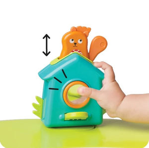 Oribel PortaPlay Toy Popping Squirrel Used