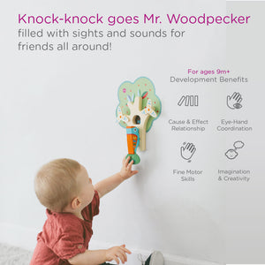 Oribel VertiPlay Knock Knock Goes Mr. Woodpecker