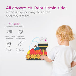 Oribel VertiPlay Round and Round Goes Mr. Bear Developmental Benefits