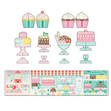 Load image into Gallery viewer, Petit Collage Sticker Mosaic Set Sweet Shop