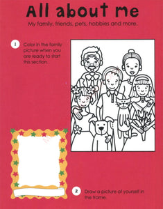 Priddy Books 1000 Activities Inside - All About Me