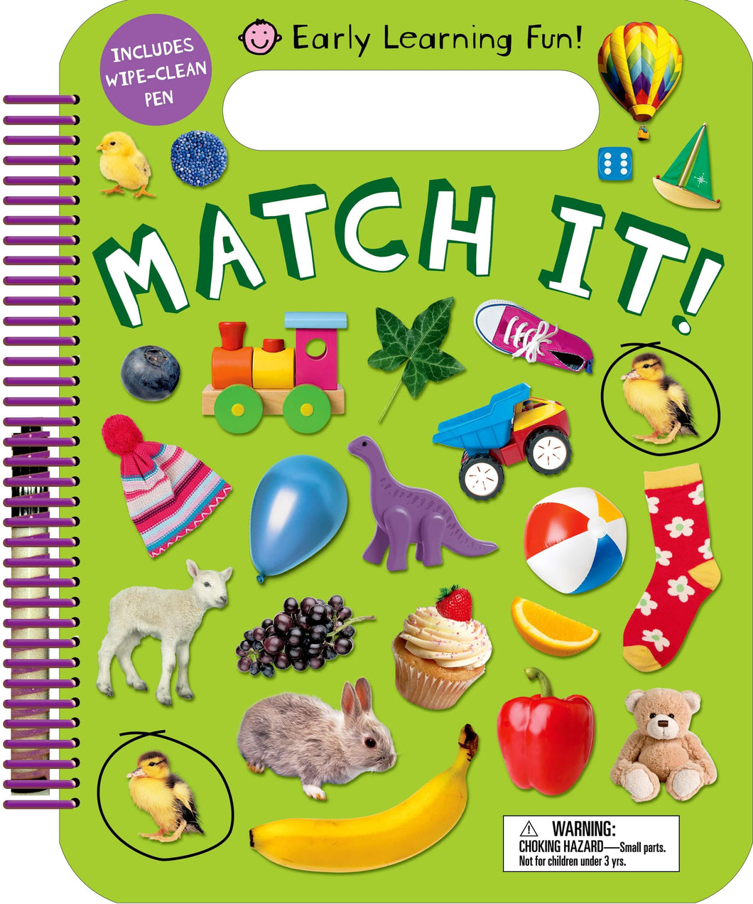 Priddy Books Early Learning Fun Match It!