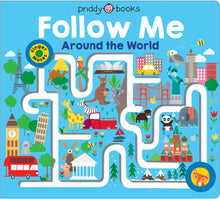 Load image into Gallery viewer, Priddy Books Maze Book Follow Me Around The World