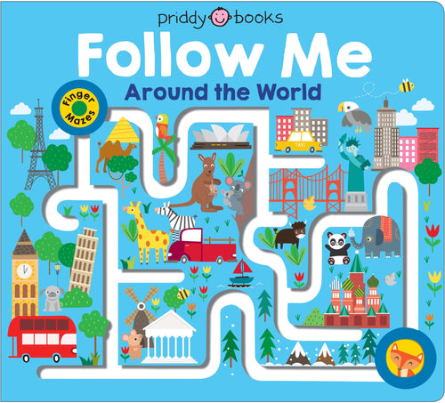 Priddy Books Maze Book Follow Me Around The World
