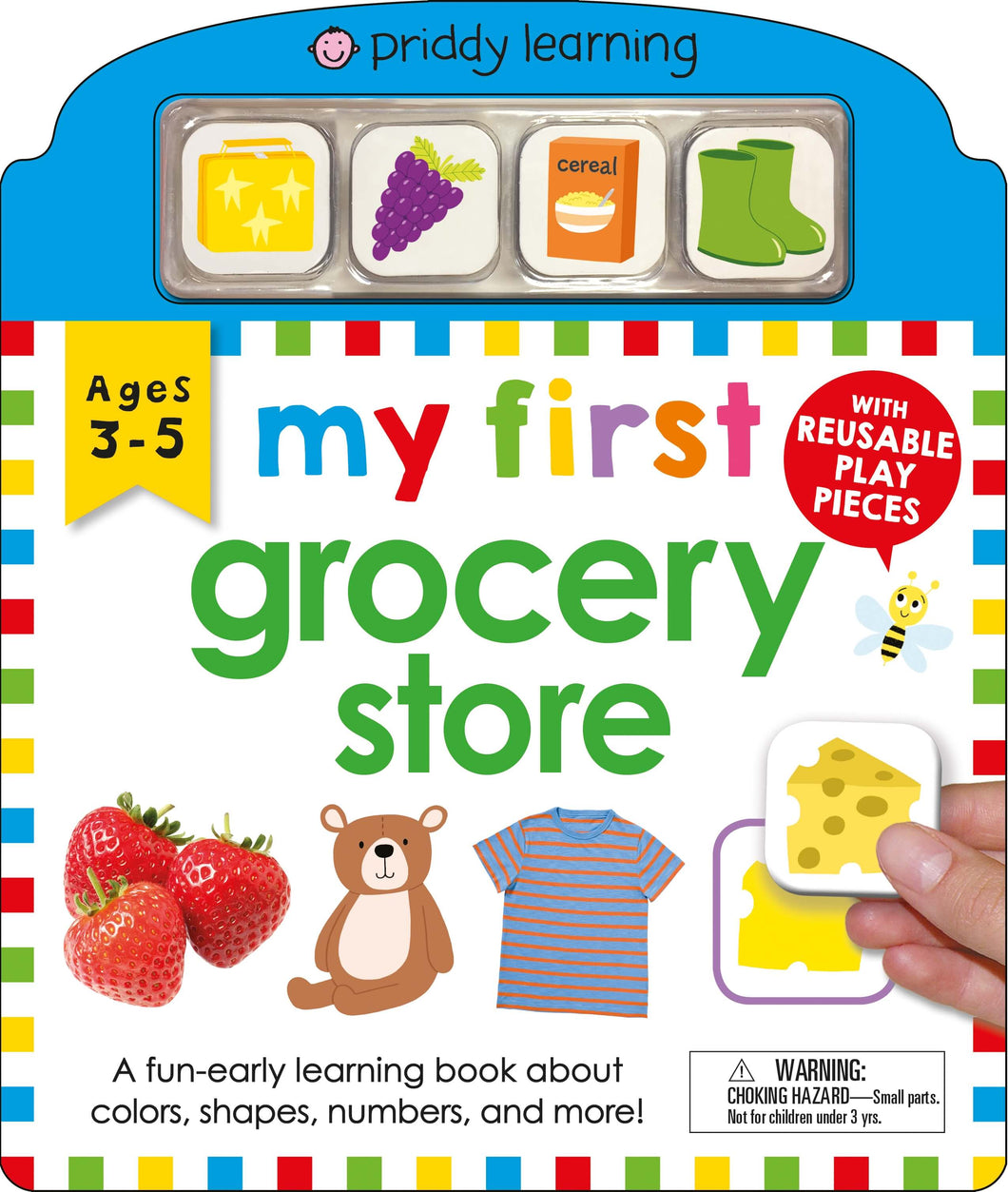 Priddy Books My First Play and Learn Grocery Store