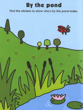 Load image into Gallery viewer, Priddy Books Preschool Color and Activity Book - By The Pond