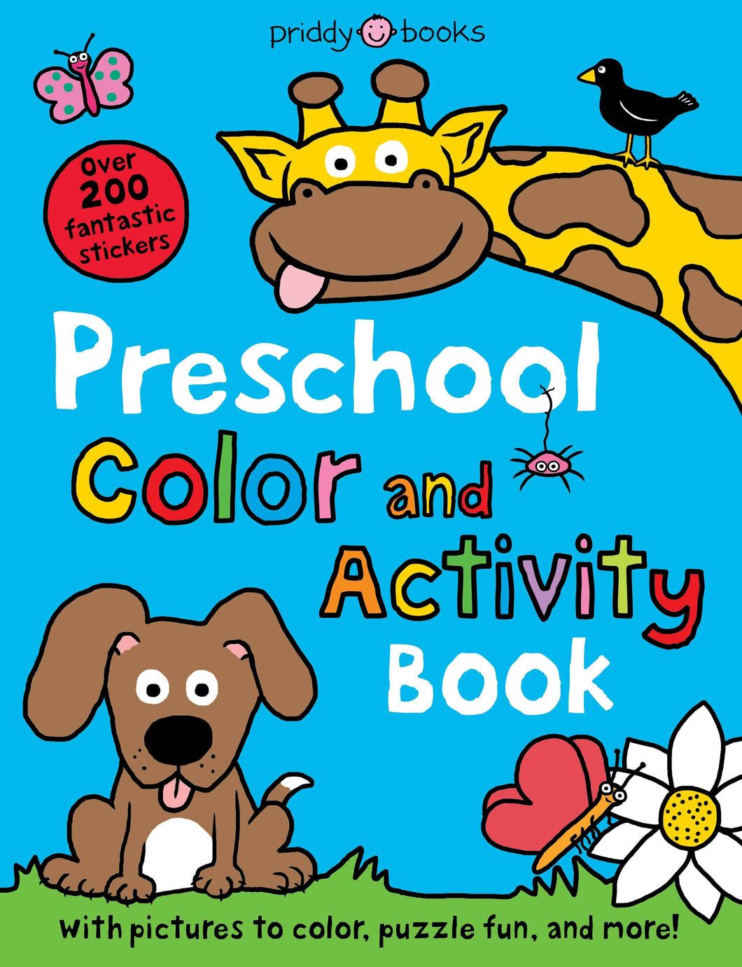 Priddy Books Preschool Color and Activity Book