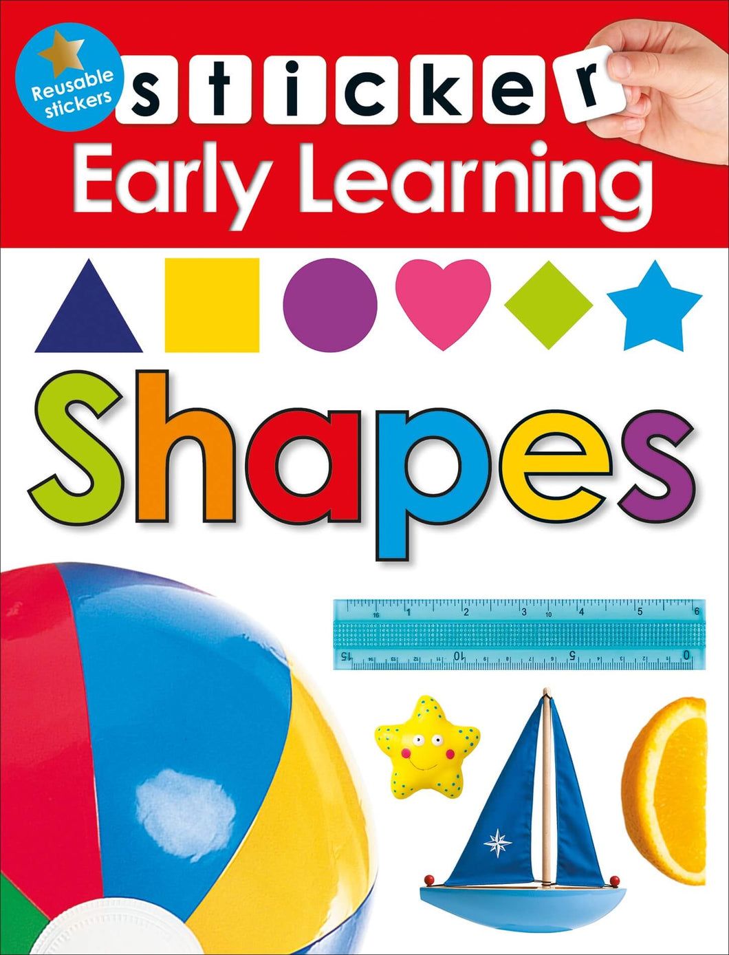 Priddy Books Sticker Early Learning Shapes