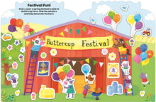 Load image into Gallery viewer, Priddy Books Sticker Friends Farm - Buttercup Festival