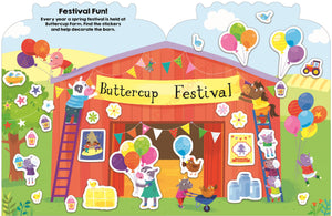 Priddy Books Sticker Friends Farm - Buttercup Festival