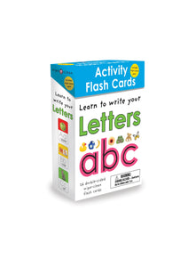 Priddy Books Wipe Clean Activity Flash Cards Letters