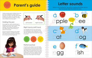Priddy Books Wipe Clean Workbook: Starting Spelling - Parent's Guide and Letter Sound