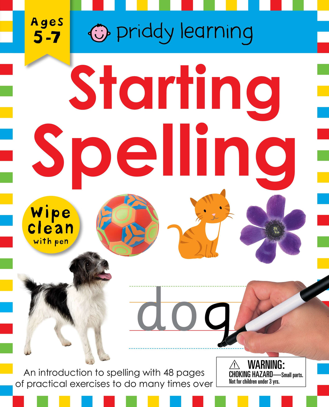 Priddy Books Wipe Clean Workbook: Starting Spelling