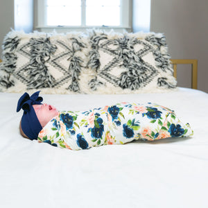 Tiny Twinkle Swaddle Blanket Blush