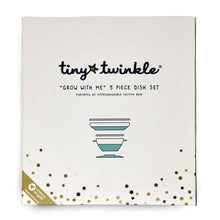 Load image into Gallery viewer, Tiny Twinkle Grow with Me Feeding Set Mint