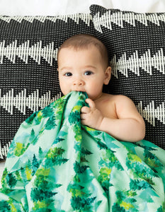 Tiny-Twinkle Swaddle Blanket Forest