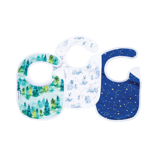 Tiny Twinkle Feeder Bib Forest Set