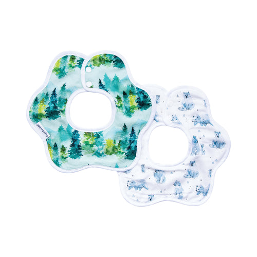 Tiny Twinkle Roundabout Bib Forest Set