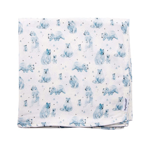 Tiny Twinkle Swaddle Blanket Bear