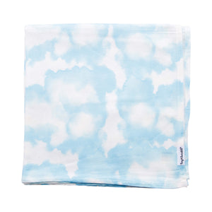 Tiny Twinkle Swaddle Blanket Cacti Blue Skies