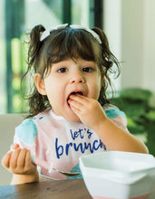 Load image into Gallery viewer, Tiny Twinkle Mess-proof Easy Bib Let's Brunch
