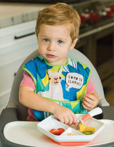 Tiny Twinkle Mess-proof Easy Bib Como Te Llamas