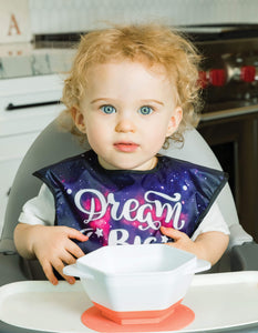 Tiny Twinkle Mess-proof Easy Bib Dream Big