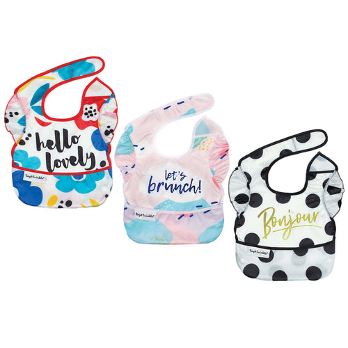 Tiny Twinkle Easy Bib Bundle Girl Set