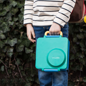 Toddler Holding Omielife Omiebox
