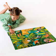 Load image into Gallery viewer, Petit Collage Wild Rainforest Floor Puzzle