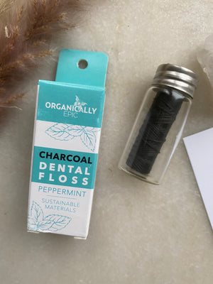 Organically Epic - Charcoal Infused Dental Floss