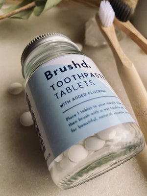 Brush'd - Toothbrush Tablets (added Floride) - English Mint