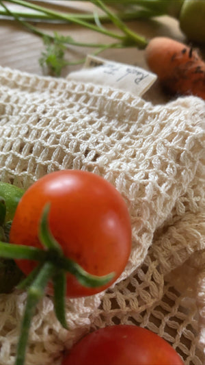 Hemp Organic Produce Bags - 3 Pack