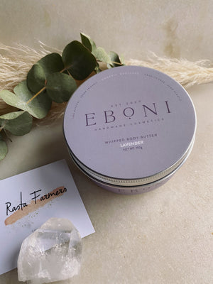 Eboni Cosmetics - Natural Body Butter - Lavender