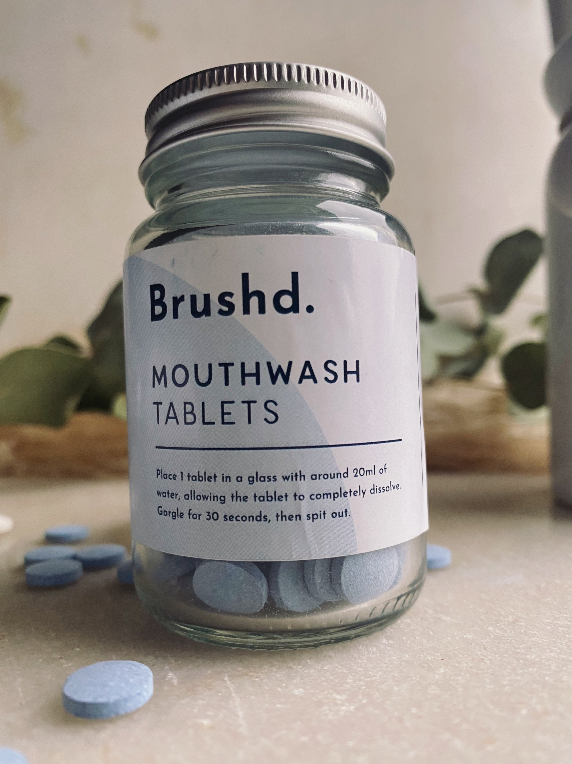 Brush'd - Mouthwash Tablets - Peppermint