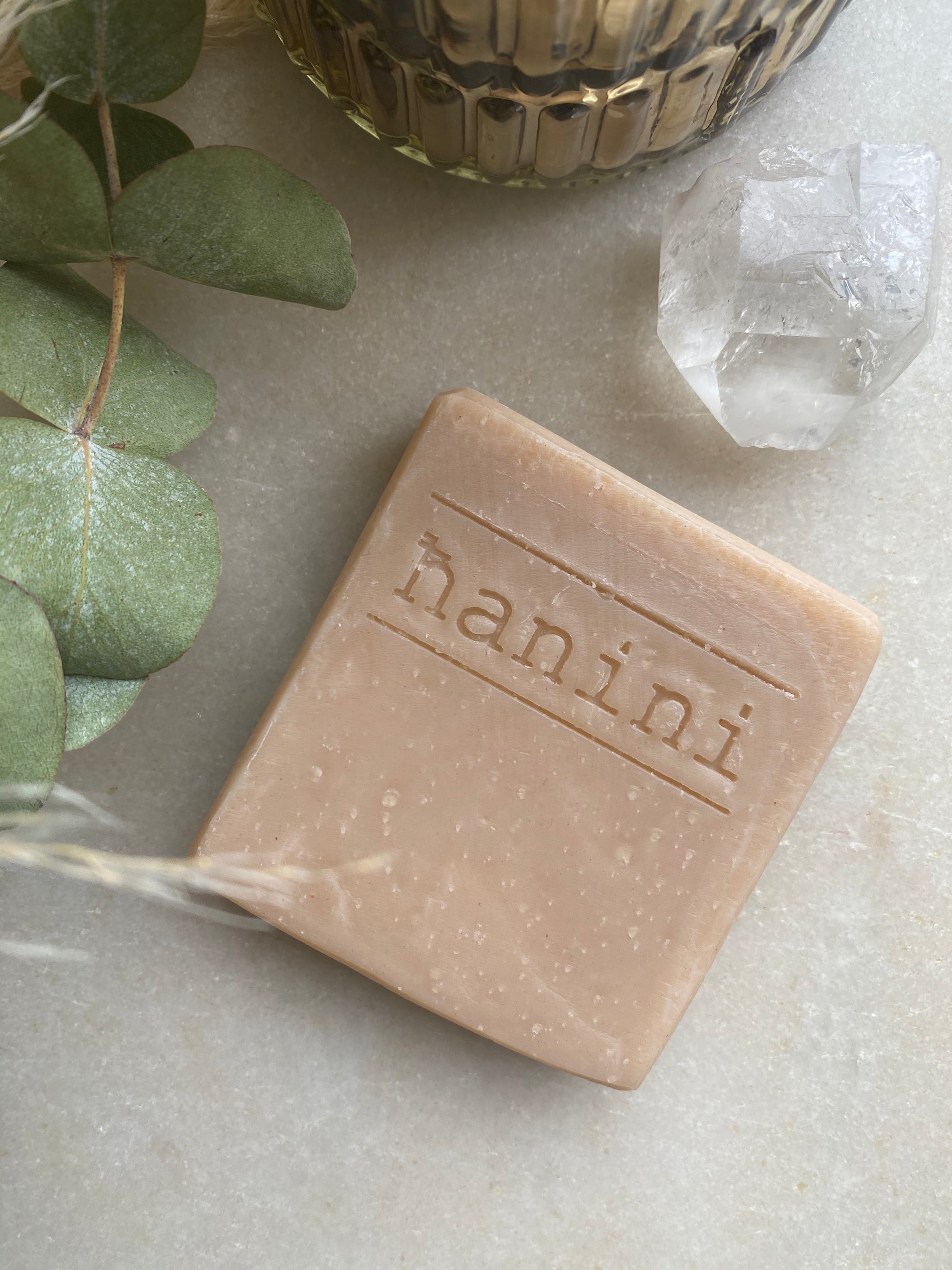 Hanini Soaps - RENEWAL Clay Natural Soap - Pastel Pink Clay