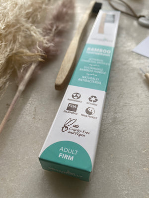 Organically Epic - Bamboo Adults Charcoal Toothbrush