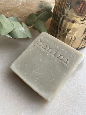 Hanini Soaps - TONING Clay Natural Soap - French Green Clay