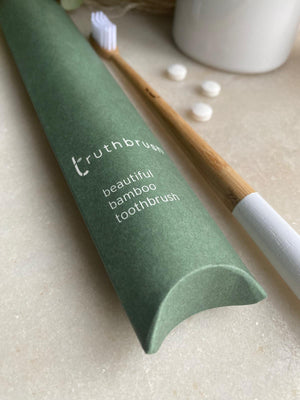 Truthbrush - Adult Bamboo Toothbrush