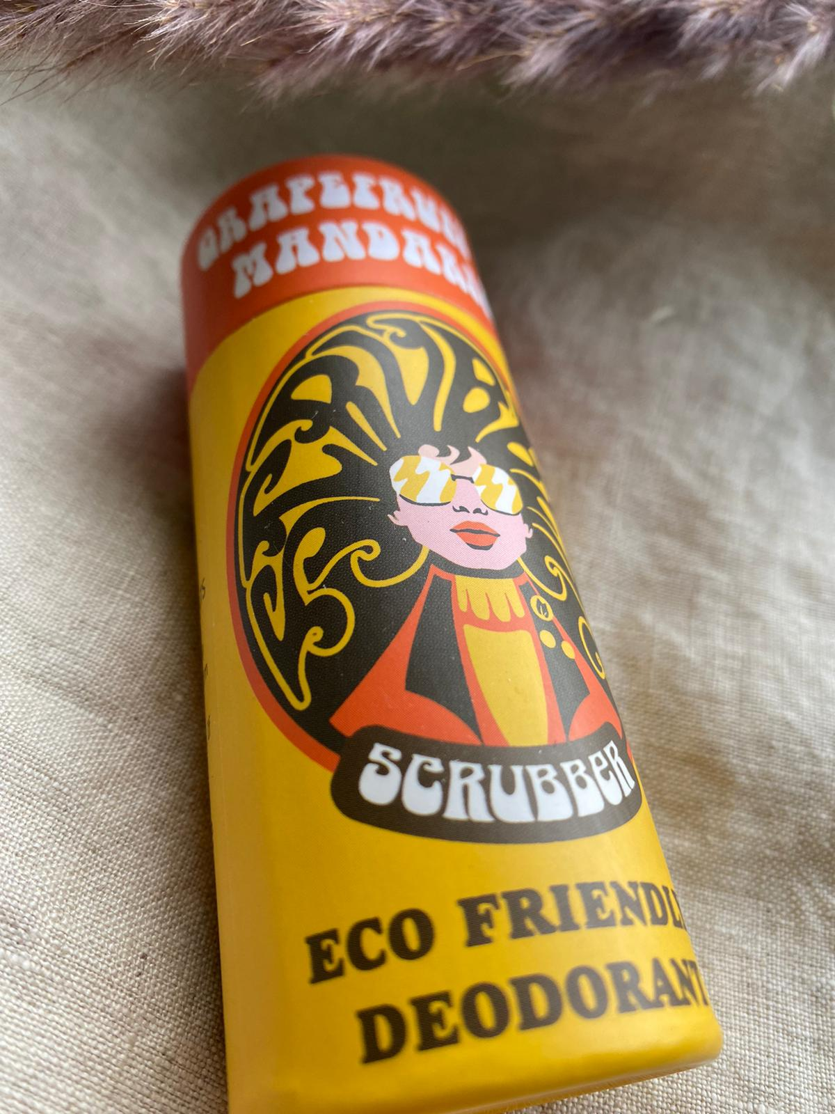 Scrubber Store - Grapefruit & Mandarin - Eco Friendly Deodorant