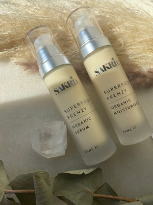 Sakrid - Superfood DUO - Moisturiser & Serum Bundle