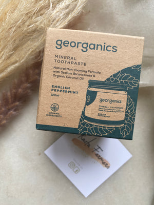 Georganics - Mineral Toothpaste - English Peppermint