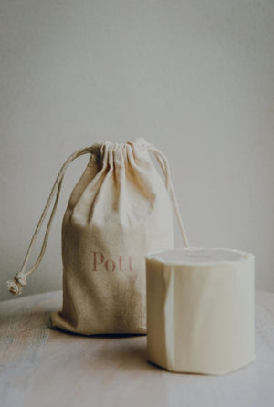 Pott Candle - Rosa Candle - 50hr Burn Time