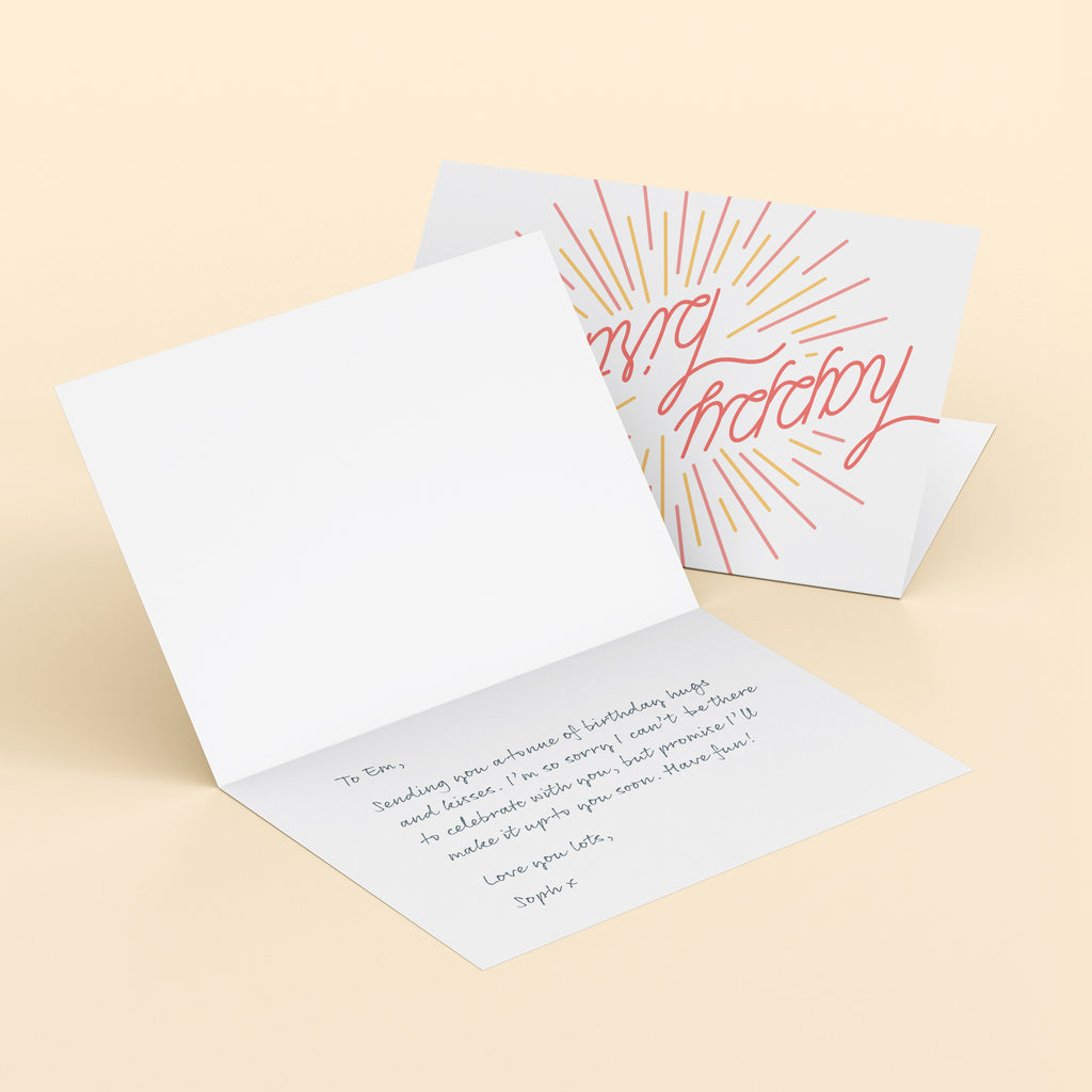 Handwritten Greetings Card Service