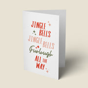 Furlough All The Way Funny Christmas Card