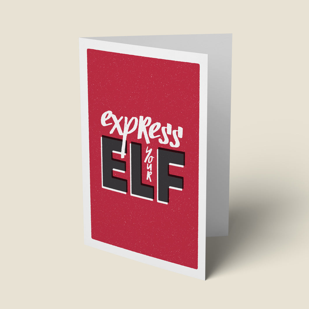 Express Your Elf Card