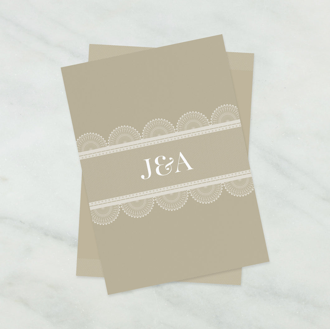 Lace Wedding Stationery Collection